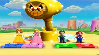 Mario Party 5 MiniGames - Mario Vs Peach Vs Luigi Vs Daisy (Master Cpu)