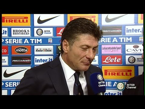 INTERVISTA WALTER MAZZARRI POST INTER-CAGLIARI