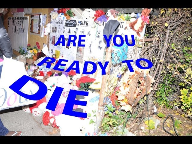 ARE YOU READY TO DIE  Euclid Square Mall will Save YOU