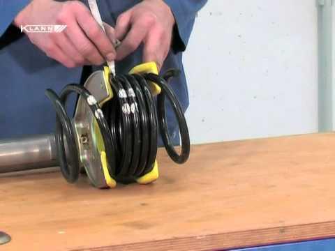 Compresor de muelles de suspension casero