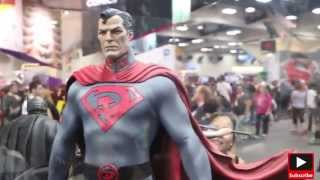 SDCC 15, Red Son Superman, Red Son Batman, Red Son Wonder Woman Premium Format