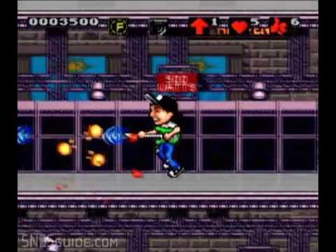 Wayne's World - SNES Gameplay