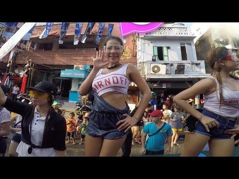 Craziest Patry You Ever Been! SongKran Water Festival, Part I Kaosan, Bangkok