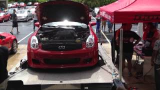 2005 Infiniti G35 Vortech Supercharged VQ35DE REV UP DYNO