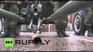 كتيبة الألعاب النارية الروسية تتهيأ لعيد النصر