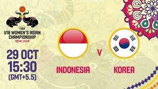 Индонезия до 18 : Республика Корея до 18