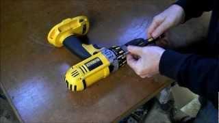 Dewalt cordless drill repair, SMOKING MOTOR !