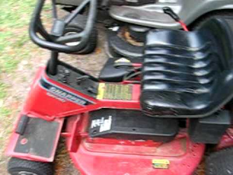 Snapper Riding Mower With Electric Start