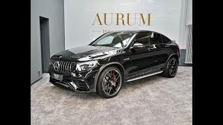 MERCEDES-BENZ GLC 63 AMG S *4M+* *COUPE* *BLACK* Walkaround by AURUM International