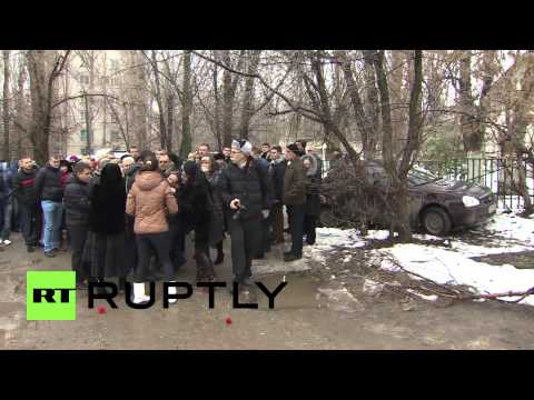 Russia: Funeral held for Volgograd bombing victim