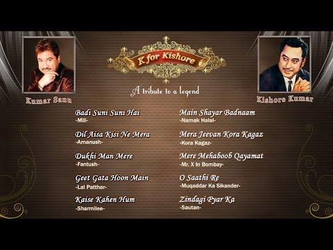 K For Kishore Vol. 1 | Kishore Kumar | Tribute By Kumar Sanu video