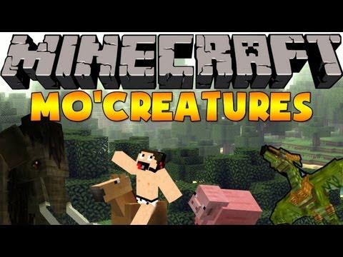 Minecraft mods: Como Instalar y Descargar Mo'Creatures Mod para minecraft 1.5.2