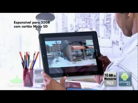 Tablet Positivo YPY 07STB com Android 4.0 - Submarino.com.br