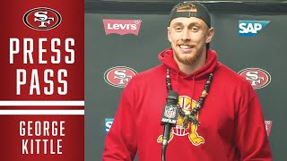 George Kittle Talks Big Win in an 'Insane Environment' | 49ers