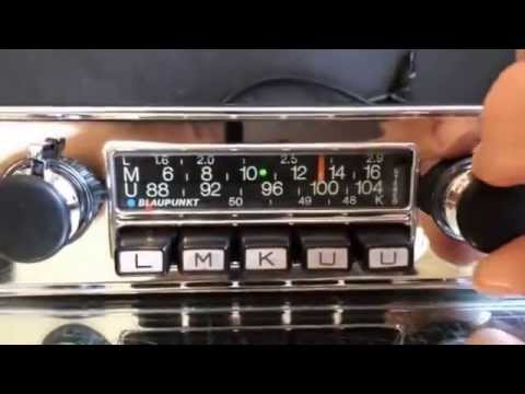 Chromelondon.com BLAUPUNKT FRANKFURT STEREO CHROME RADIO WITH FULL TWO CHANNEL OUTPUT AND MP3