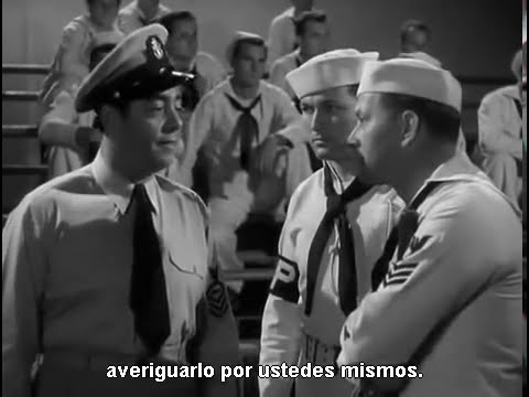Dean Martin and Jerry Lewis   Sailor Beware 1952   Complete Movie
