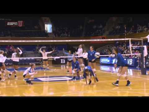 UNC Volleyball: Highlights vs. Duke