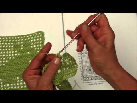 Basic Filet Crochet with Aunt Lydia's Thread