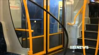 [Nine News Sydney] Authorities work out cause of Edgecliff train derailment - 16/1/2014