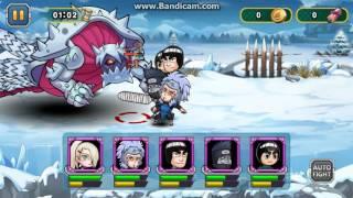 Shinobi Wars almost win vs 3 tails isobu difficulty 3