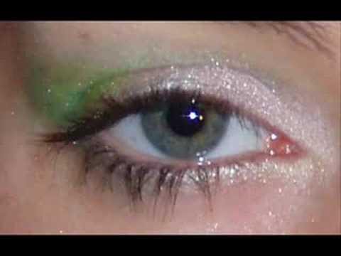 makeup tutorials for green eyes. BEG: Tinkerbell Makeup