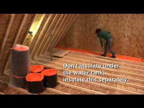 How To Install Loft Insulation Easily A Video Guide From