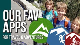 TRAVEL AND ADVENTURE APPS AND LINKS // RV Living With Kids