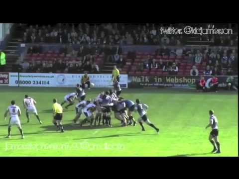 James Stephenson Rugby Highlights, 2012/13 Season. Edited by Jonny Garbutt