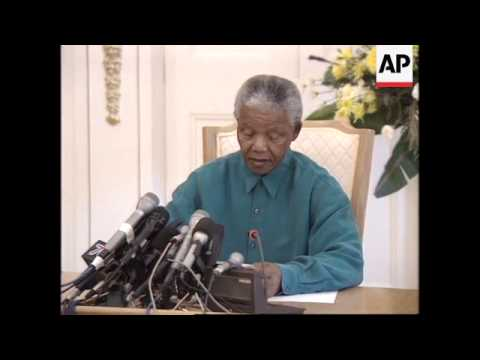 SOUTH AFRICA: WINNIE MANDELA DISMISSAL FROM GOVERNMENT, UPDATE
