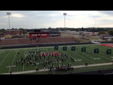 Tahlequah High School Orange Express prelims performance @ 2013 Class 4A/5A OBA  10-26-13