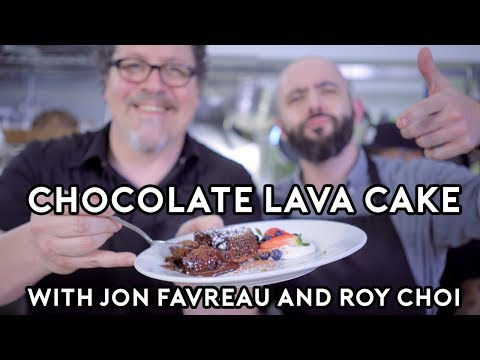 Binging with Babish: Chocolate Lava Cakes from Chef feat. Jon Favreau and Roy Choi thumbnail