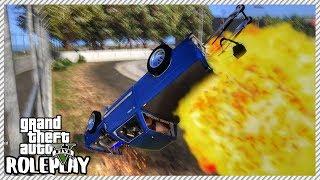 GTA 5 Roleplay - 'HUGE' Drag Race Crash Most Dangerous Drag Car | RedlineRP #381