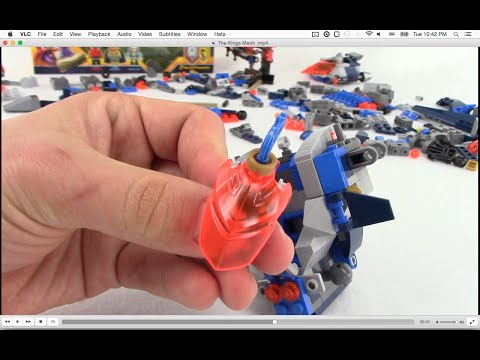 LEGO NEXO KNIGHTS: King's Mech 70327 - Let's Build!