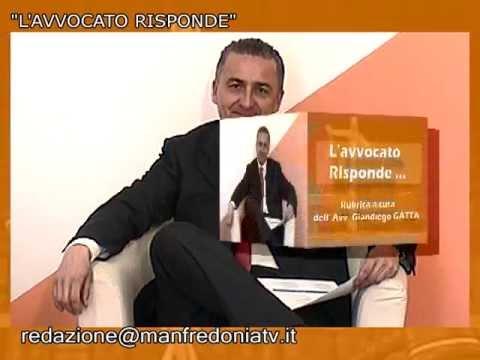 """L'Avvocato Risponde"" spot – ManfredoniaTV"