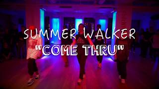 "SUMMER WALKER ""come thru"" 