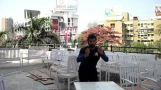 Shabbir Ahluwalia giving his best in Plyometric jump drills