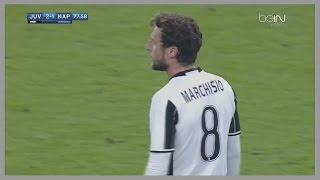 Claudio Marchisio vs Napoli (Home) 29/10/2016 | HD