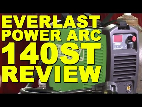 Getting Started with TIG Welding: Everlast PowerArc 140ST