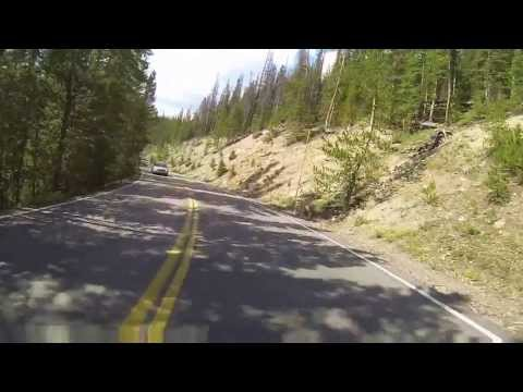 GoPro Motorcycle ride through Rocky Mountain National Park