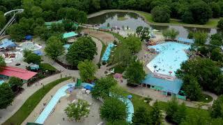 Worlds of Fun Village Amusement Park - Mavic 2 Pro