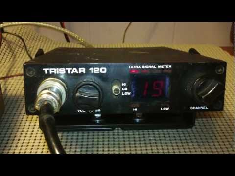 Tristar 120 Compact 120 Channel Mobile CB Radio