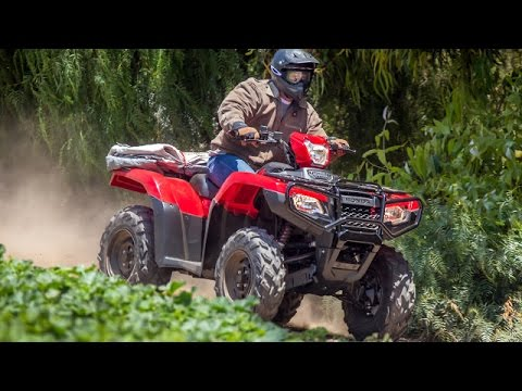 2015 Honda Foreman Rubicon Introduction