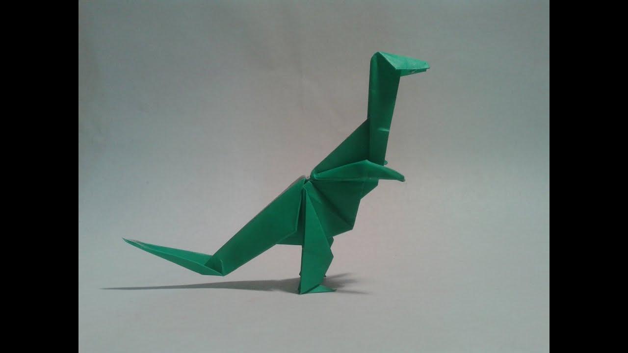 Easy t Rex Origami Origami Dinosaur T-rex