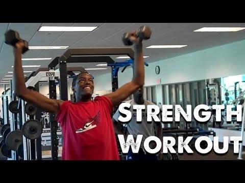 DeMatha Basketball Morning Strength Workout (2010)