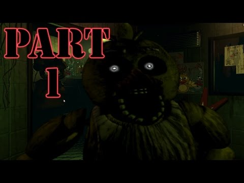 Five Nights At Freddys 3 Gameplay Part 1 - Heart Attack Initiated (PC)