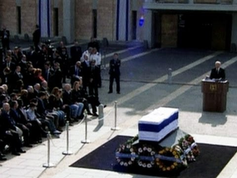 Ariel Sharon remembered at funeral