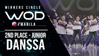 Danssa Place Junior | Winners Circle | World of Dance Manila Qualifier 2018