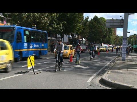 Bogota saddles up for world car-free day