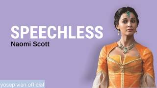 Download Song Naomi Scott - Speechless (lyrics) Free StafaMp3
