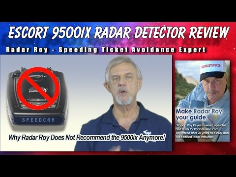 Escort Passport 9500ix Radar Detector Review